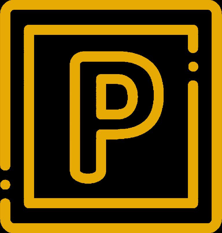 Ausreichend Parkplätze